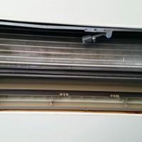 エアコン内部の高圧洗浄