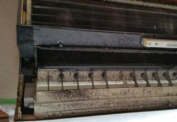 エアコン内部の黒カビ